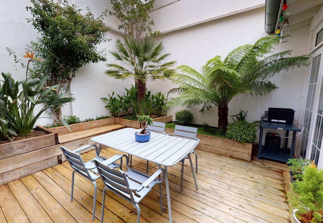 Maison à Biarritz - Maison de ville avec patio cosy à Biarritz